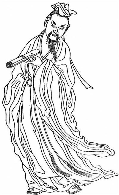 古代松树怎么画简笔画