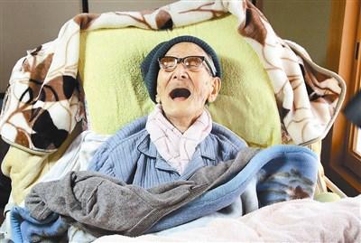 世界最长寿 日人瑞庆116岁