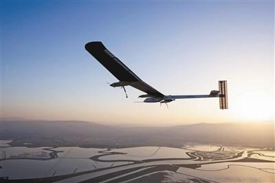 太阳能飞机起飞 横越美国