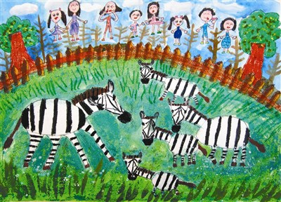 快乐涂鸦簿-- 动物园之旅
