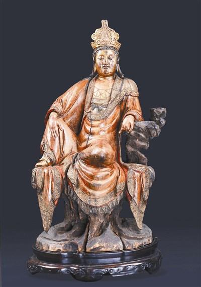 木雕佛像 北京首次专场拍卖