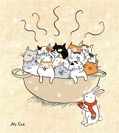 作业团结的动物图片