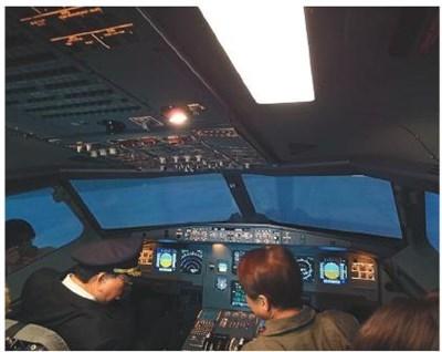 飞行模拟驾驶舱