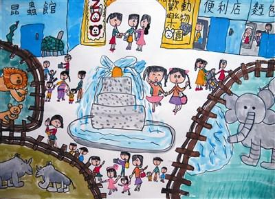 欢乐动物园  吴宇庭  台北市吴兴国小三年一班