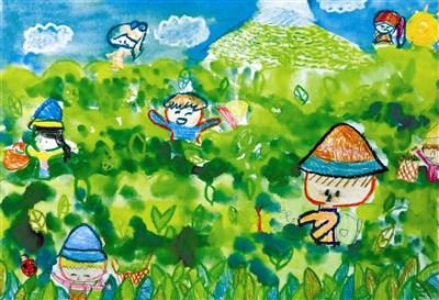 采茶类卡通图画