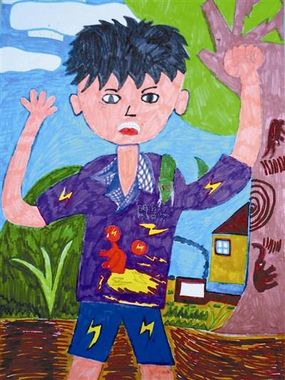 快乐涂鸦簿 我的自画像 | 少年天地 | 人间福报